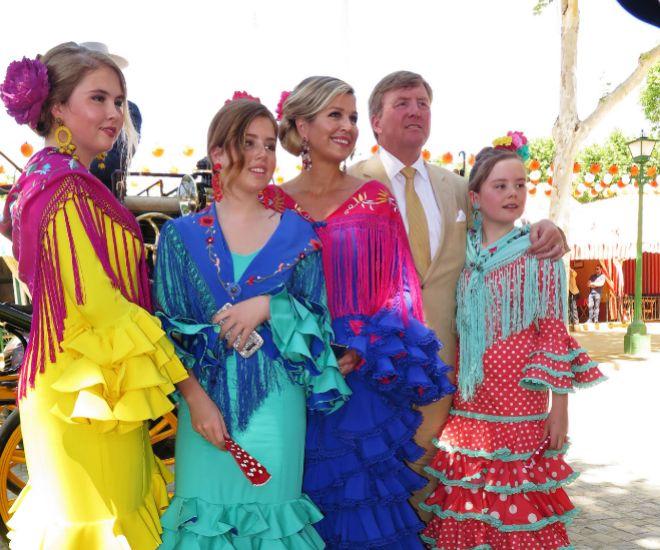 Máxima Y Guillermo De Holanda Regresan A La Feria De Abril