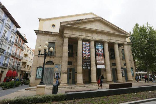 Fachada del Teatro Principal.