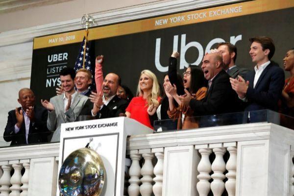 Salida a Bolsa de Uber en Wall Street.