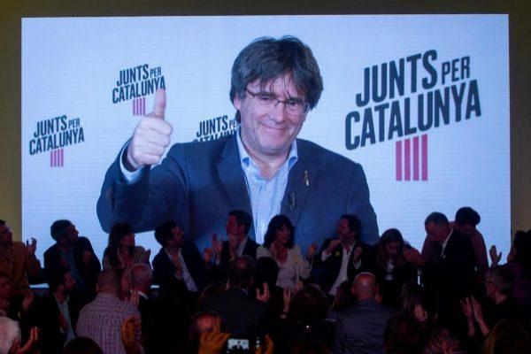 Puigdemont será candidato al Parlamento Europeo.