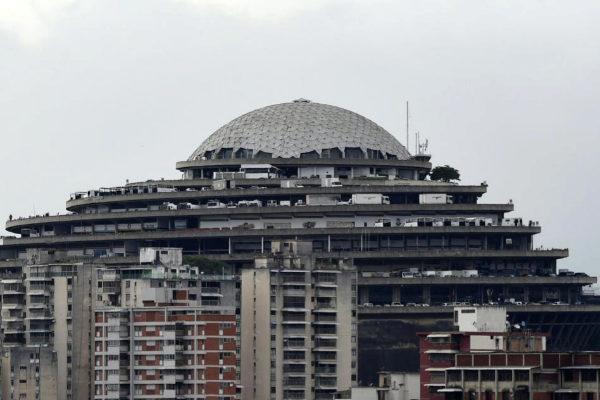 Vista del Sebin, el Servicio Bolivariano de Inteligencia de Venezuela, en Caracas.