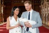 Meghan Markle y el príncipe Harry presentan a su hijo Archie dos días después de dar a luz.