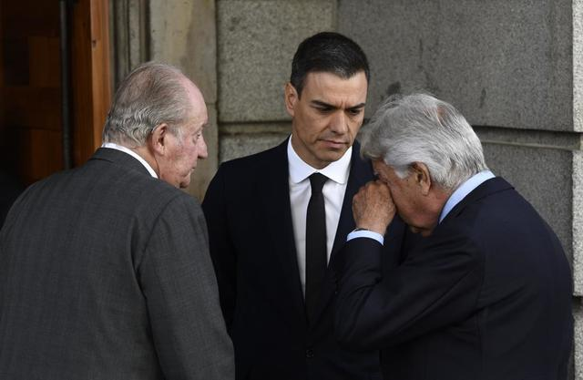El último Adiós A Alfredo Pérez Rubalcaba La Paz Y La