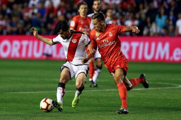 Pozo pugna con Llorente en un Rayo - Real Madrid.