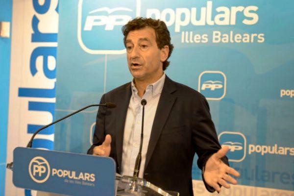 El presidente del PP balear, Biel Company.