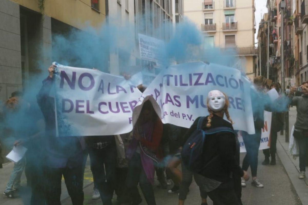 Una manifestación enfrenta a abolicionistas y a defensoras de las prostitutas