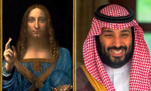 El enigma de la desaparición del cuadro de Da Vinci y su relación con el príncipe Bin Salman