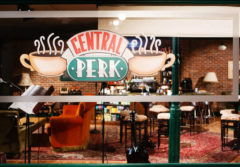 El emblemático 'Central Perk', donde los personajes se encontraban a menudo