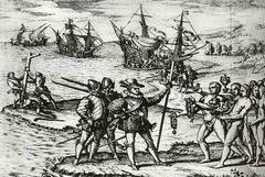 """Colón entre caníbales: """"Cocían un pescuezo de hombre y cuatro brazos y piernas"""""""