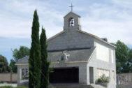 La capilla propiedad de la familia Franco en el cementerio de Mingorrubio, en El Pardo.