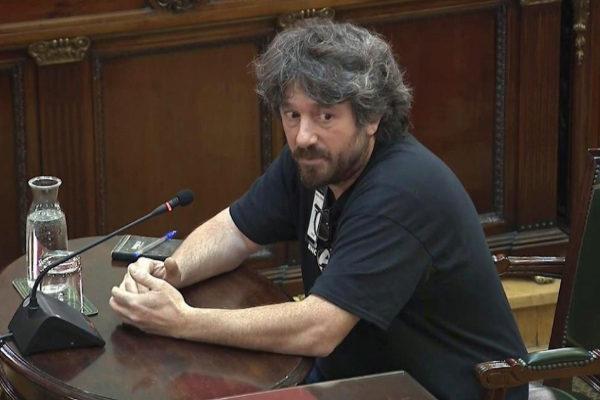 Martí Carreras, uno de los testigos de la defensa que ha declarado en...