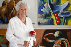 """'Charito', la candidata abuela con 95 años: """"No voy a robar nada, ni un árbol"""""""
