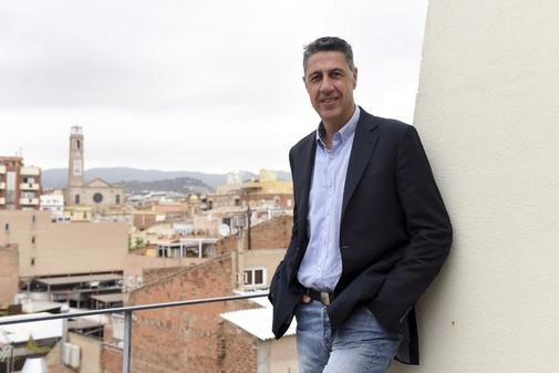 Xavier García Albiol en Badalona.