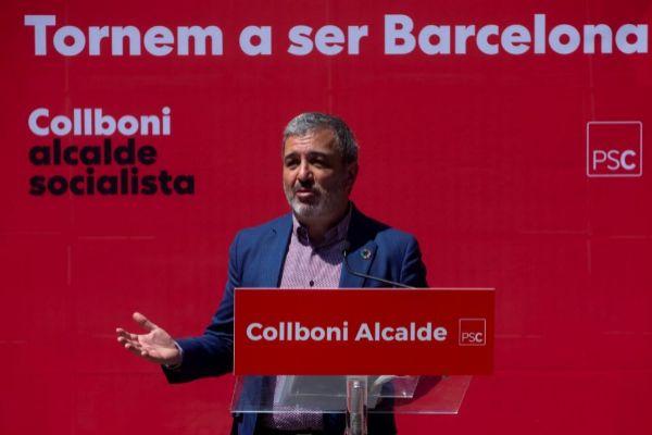 GRAF9286. BARCELONA.- El candidato del PSC a la alcaldía de Barcelona, Jaume <HIT>Collboni</HIT> presenta sus medidas para una Barcelona feminista.