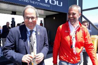 """Torra: """"Lo vamos a dar todo para seguir teniendo Fórmula 1 en Cataluña"""""""