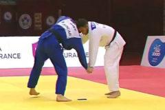 Descalificado un judoca portugués al caerle el móvil en pleno combate