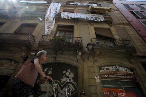 Edificio afectado