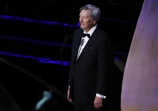 John Bailey en la pasada entrega de los Oscar en Hollywood.