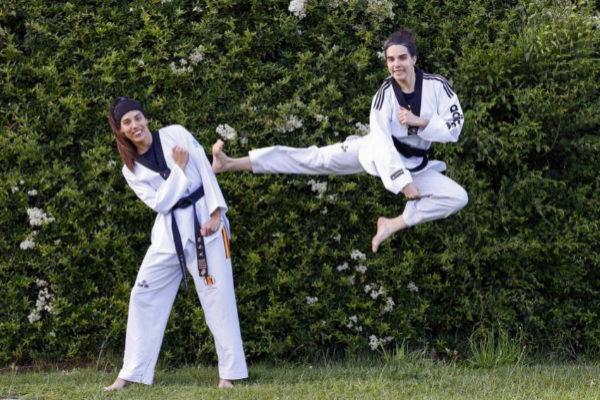 Las hermanas Eva y Marta Calvo.
