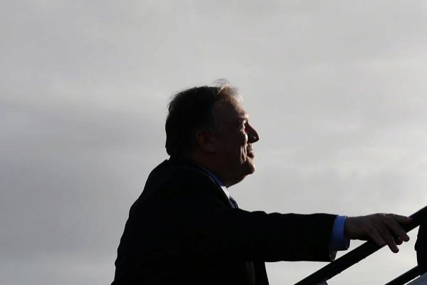 El secretario de Estado de Estados Unidos, Mike Pompeo, en una imagen reciente.