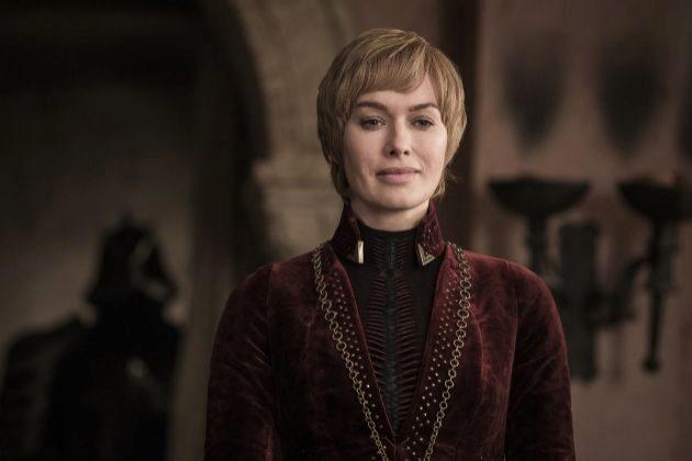 Cersei Lannister (Lena Headey) en la temporada final de Juego de...