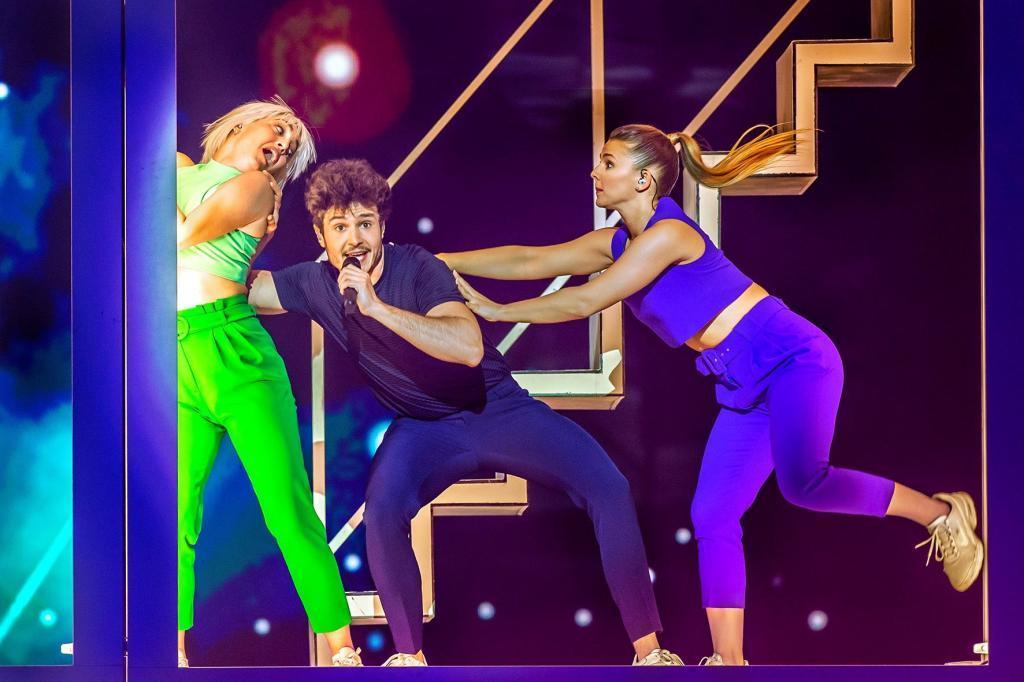 Miki interpreta La Venda en el segundo ensayo de Eurovisión 2019