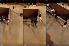 Secuencia del tiroteo en plena calle en el Príncipe, Ceuta.