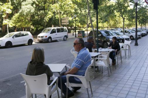 El entorno del parque Ribalta de Castellón no escapa al debate sobre el futuro de la cruz.