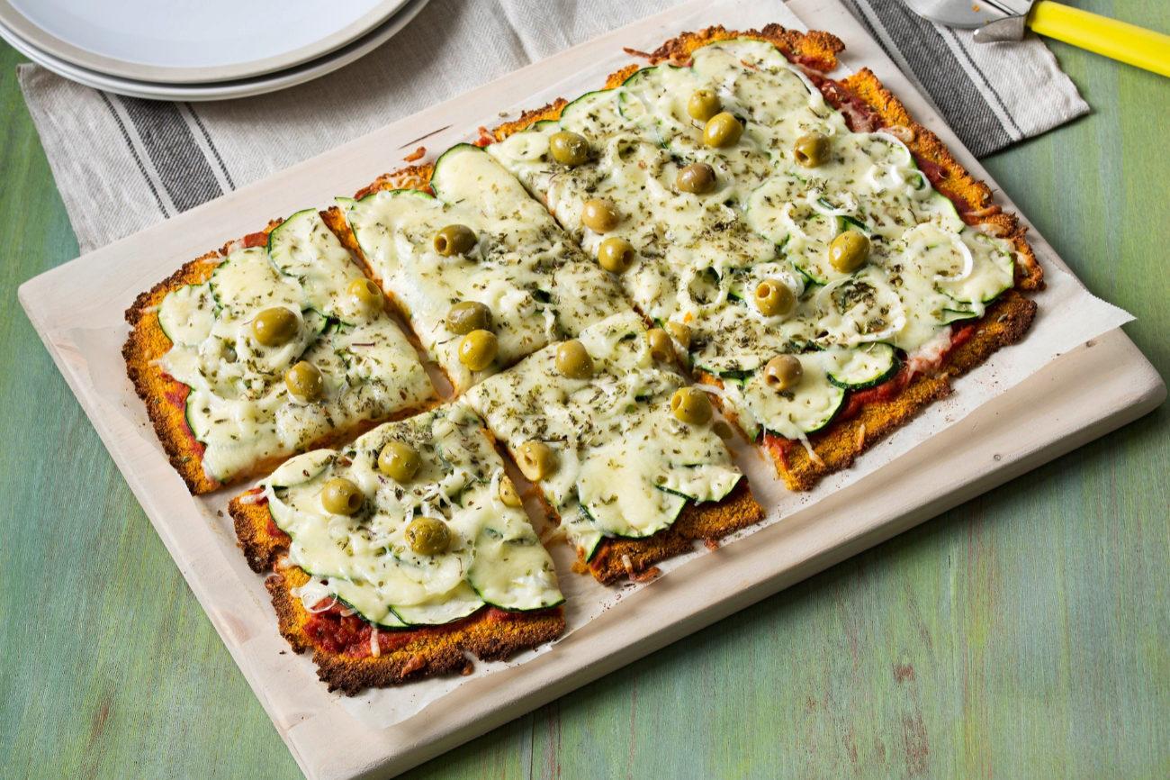 Recetas Saludables Con Thermomix Pizza Vegetariana Sin