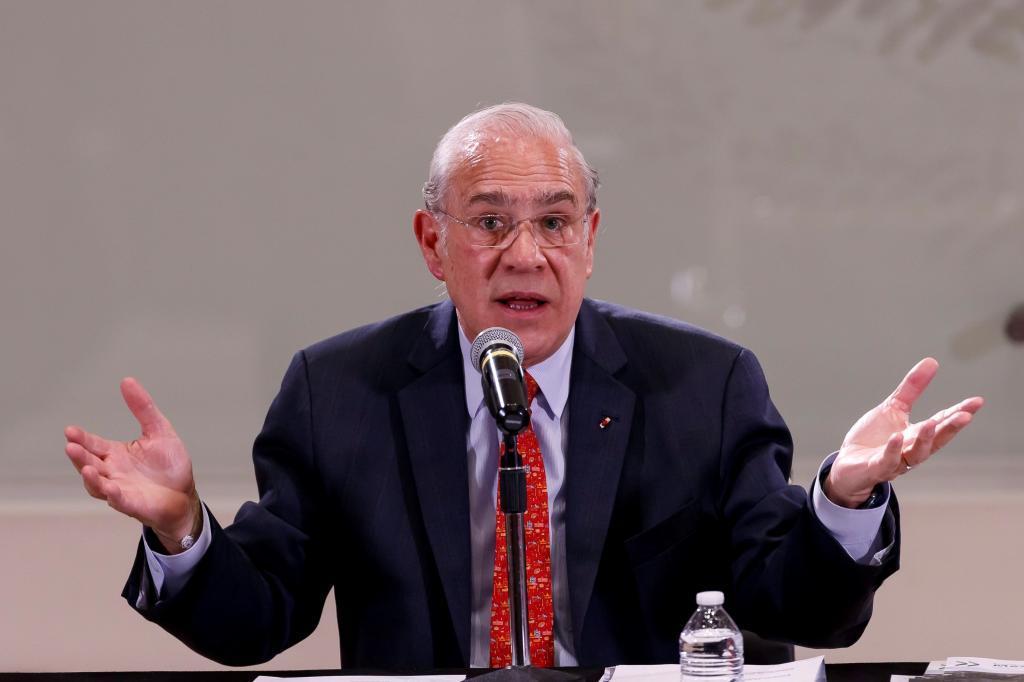 El secretario general de la OCDE, Angel Gurria