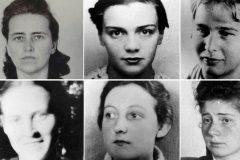 Los rostros de algunas de las mujeres cuyos cuerpos utilizó el anatomista Hermann Stieve