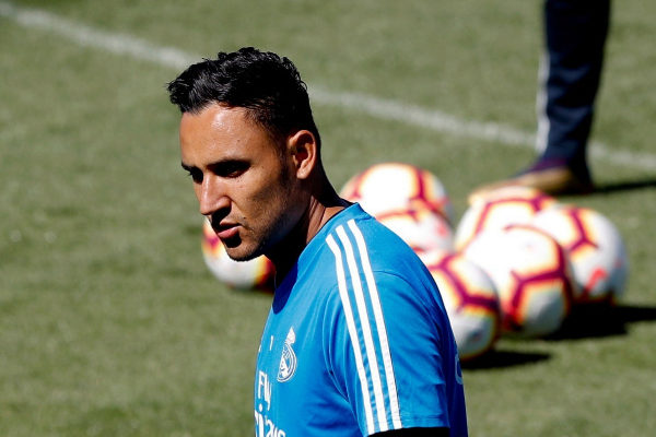 GRAF2813. MADRID.- El portero costarricense del Real Madrid Keylor...