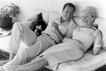 (FILES) This undated file photo shows US actress <HIT>Doris</HIT> <HIT>Day</HIT> (R) relaxing with US actor Rock Hudson (L). <HIT>Day</HIT> and Hudson starred in several romance/comedy Hollywood films in the 1960's. - <HIT>Doris</HIT> <HIT>Day</HIT>, the US screen icon famed for her wholesome, girl-next-door appeal in a string of box office hits, died Monday, May 13, 2019 at age 97 her foundation said in a statement to US media. The <HIT>Doris</HIT> <HIT>Day</HIT> Animal Foundation said <HIT>Day</HIT>, who had suffered a bout of pneumonia, died at her California home, surrounded by friends and family, multiple news outlets reported. (Photo by HO / HO / AFP)