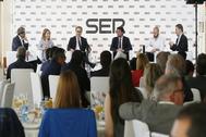 Debate de alcaldables organizado por 'Radio Alicante' el viernes de la semana pasada.