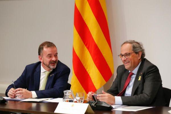 Jordi Soteras Catalunya Barcelona 13/05/2019 Reunion del Consell...