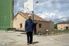 Ricardo Díez Pascual, el pasado viernes, en Castillejo de Mesleón (Segovia).