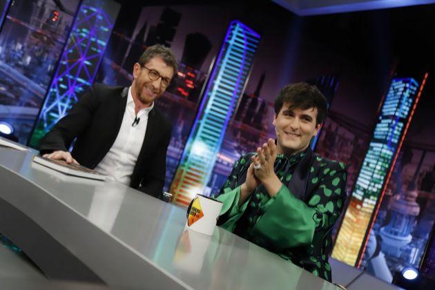 Pablo Motos con Palomo Spain en El Hormiguero, diseñador que lanzó...