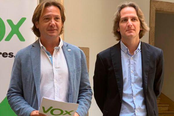 Jorge Campos y Carlos Serra, de Vox.