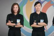 Dos de las colegiadas que dirigirán el partido de la Copa Asia