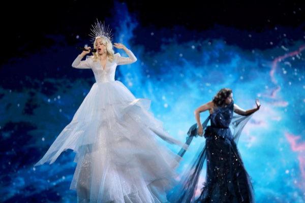 La representante de Australia en los ensayos de la primera semifinal de Eurovisión 2019