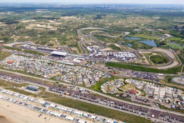 Imagen del circuito de Zandvoort.