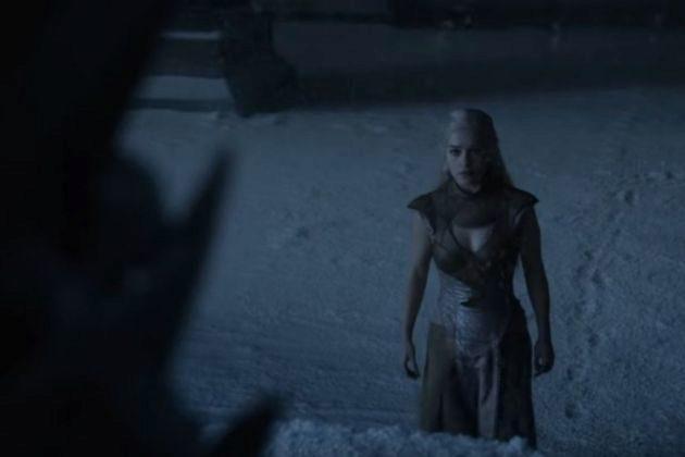 Daenerys Targaryen (Emilia Clarke) en la segunda temporada de Juego de...