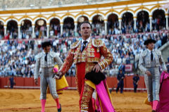 Antonio Ferrera cortó una oreja en la pasada Feria de Abril de Sevilla