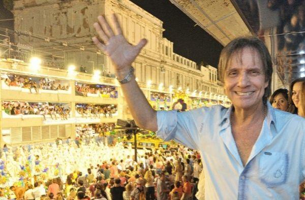 El cantante Roberto Carlos en marzo de 2019