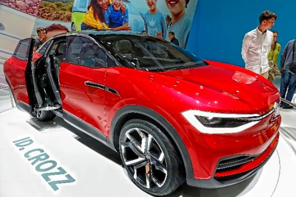 El ID Crozz  de Volkswagen, que llegará a finales de 2020