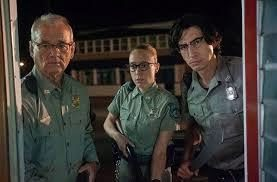 Bill Murray, Cloë Sevigny y Adam Driver en 'The Dead don't Die'.