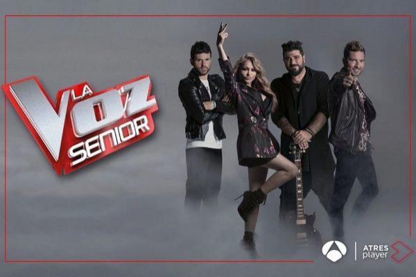 Carátula de promoción del programa 'La Voz Senior'.