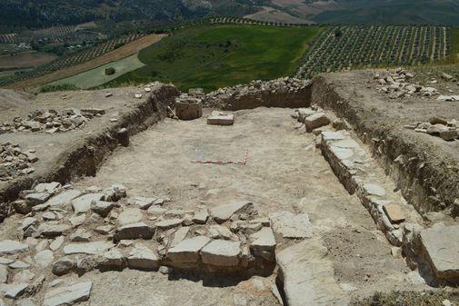 Vista de la excavación realizada este mes.