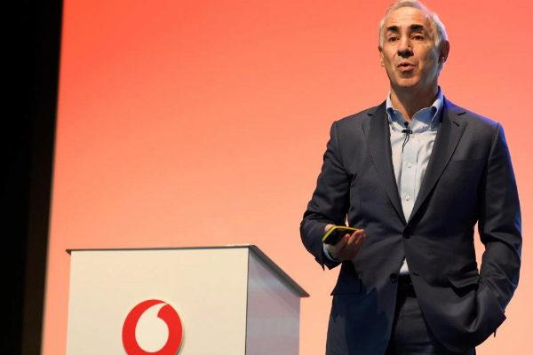 El presidente y consejero delegado de Vodafone España,...