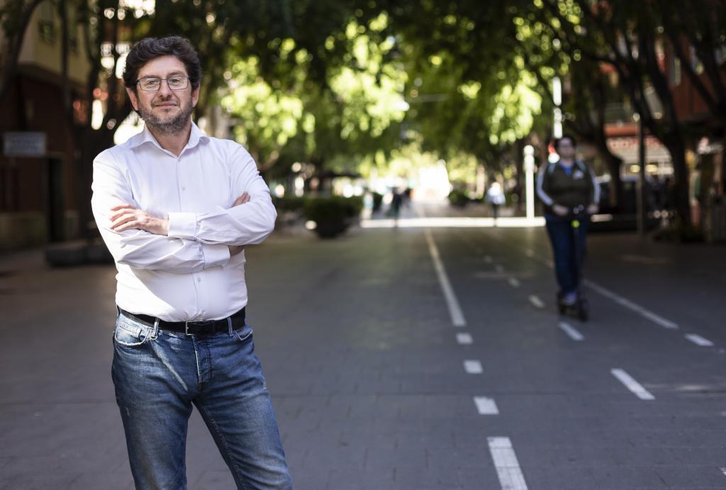 Entrevista al candidato de Podemos al Ayuntamiento de Palma, Alberto...